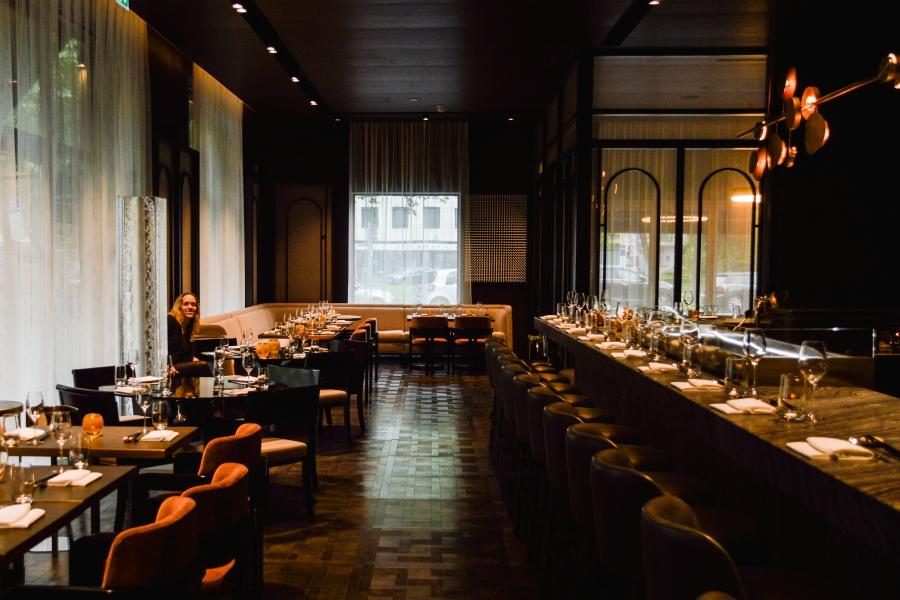 Innenausbau Luxusrestaurant